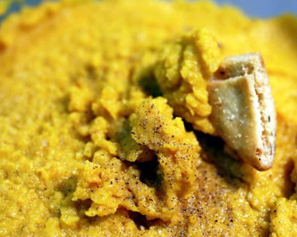 Pumpkin Cashew Hummus