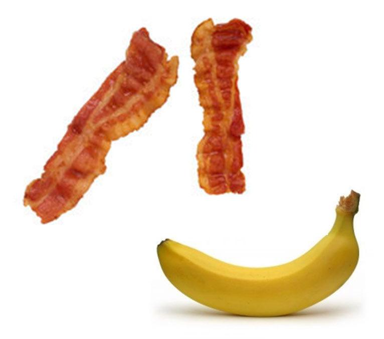 Banana Bacon Frittata